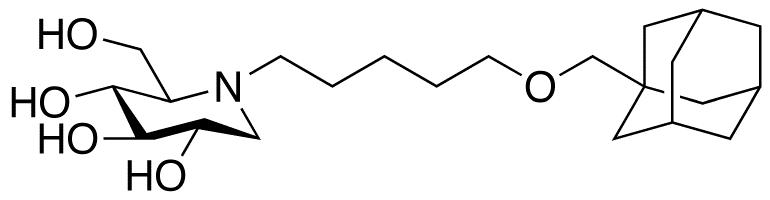N-(5-Adamant-1-yl-methoxy)pentyl Deoxynojirimycin