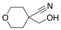 4-(Hydroxymethyl)tetrahydro-2H-pyran-4-carbonitrile