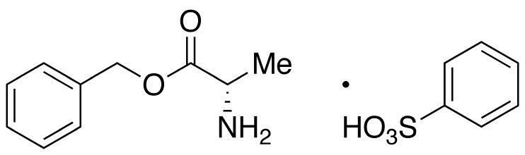 L-Alanine Benzyl Ester Benzenesulfonic Acid Salt