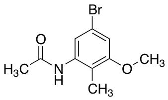 6-Acetylamino-4-bromo-2-methoxytoluene