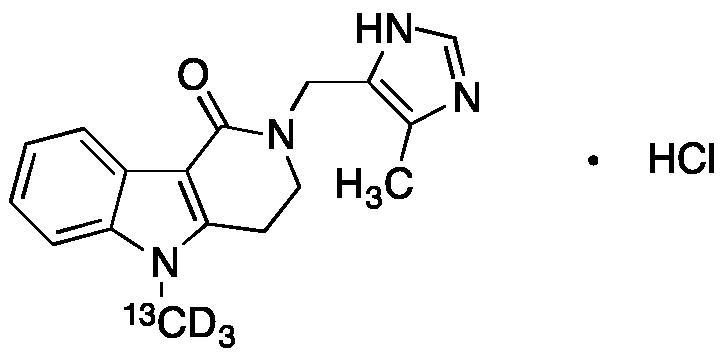Alosetron-13CD3 Hydrochloride