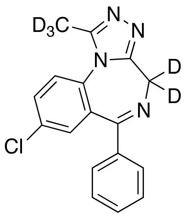 Alprazolam-d5