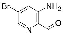 3-Amino-5-bromopyridine-2-carbaldehyde