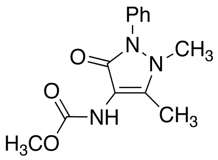 4-Aminoantipyrine N-Carbamic Acid Methyl Ester