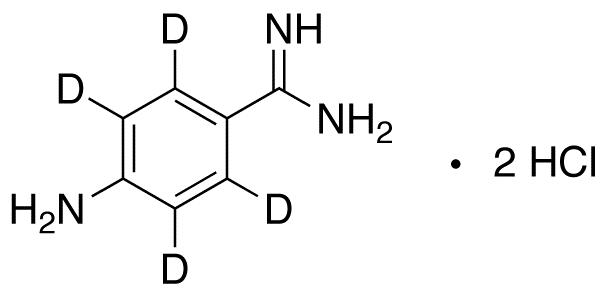 4-Aminobenzamidine-d4 Dihydrochloride