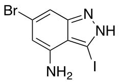 4-Amino-6-bromo-3-iodo (1H)Indazole