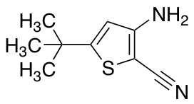 3-amino-5-tert-butylthiophene-2-carbonitrile