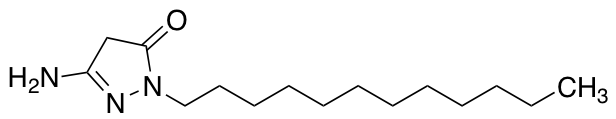 5-Amino-2-dodecyl-2,4-dihydro-3H-pyrazol-3-one
