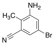 3-Amino-5-bromo-2-methylbenzonitrile