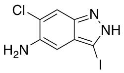 5-Amino-6-chloro-3-iodo (1H)Indazole