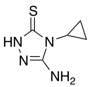 5-Amino-4-cyclopropyl-4H-1,2,4-triazole-3-thiol
