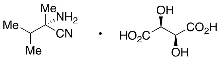 (2S)-2-Amino-2,3-dimethyl-butanenitrile L-(+)-Tartaric Acid