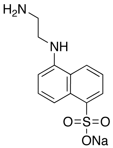 N-(Aminoethyl)-5-naphthylamine-1-sulfonic Acid Sodium Salt