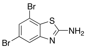 2-Amino-5,7-dibromobenzothiazole