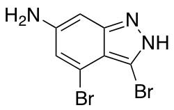6-Amino-3,4-dibromo (1H)Indazole