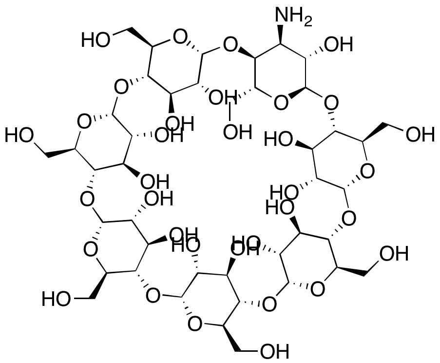 3A-Amino-3A-deoxy-(2AS,3AS)-β-cyclodextrin