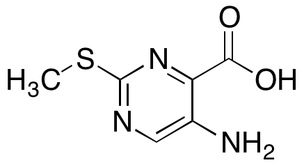 5-Amino-2-(methylthio)pyrimidine-4-carboxylic Acid