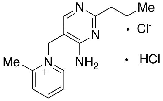 1-(4-Amino-2-n-propyl-5-pyrimidinylmethyl)-2-methylpyridinium Chloride Hydrochloride