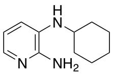 3-N-Cyclohexylpyridine-2,3-diamine