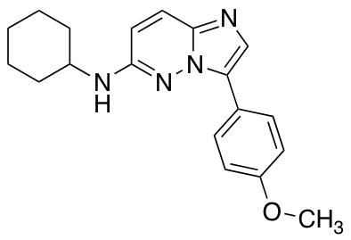 N-Cyclohexyl-3-(4-methoxyphenyl)imidazo[1,2-b]pyridazin-6-amine