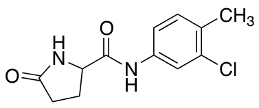N-(3-Chloro-4-methylphenyl)-5-oxo-2-pyrrolidinecarboxamide