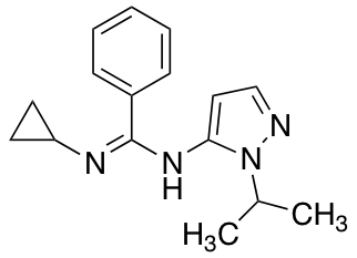 n-cyclopropyl-n'-[1-(propan-2-yl)-1h-pyrazol-5-yl]benzenecarboximidamide