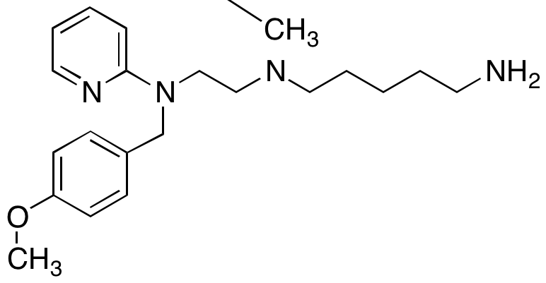N-(5-Aminopentyl)-N-(4-methoxybenzyl)-N-methyl-N-2-pyridinyl-1,2-ethanediamine