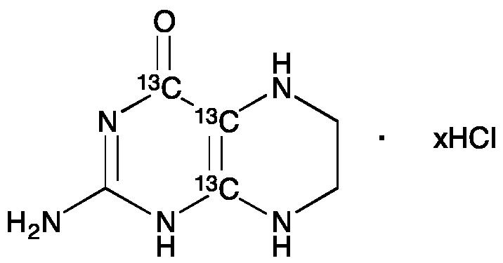 2-Amino-5,6,7,8-tetrahydro-4(1H)pteridinone-13C3 Hydrochloride