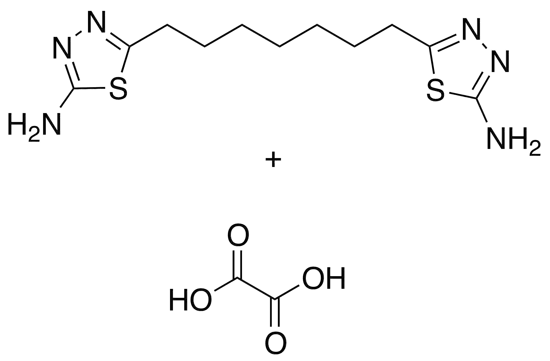 5-[7-(5-Amino-1,3,4-thiadiazol-2-yl)heptyl]-1,3,4-thiadiazol-2-ylamine Oxalate