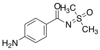 4-Amino-N-[dimethyl(oxo)-lambda6-sulfanylidene]benzamide