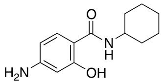 4-Amino-N-cyclohexyl-2-hydroxybenzamide