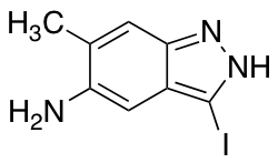 5-Amino-3-iodo-6-methyl (1H)Indazole