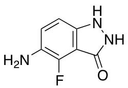 5-Amino-4-fluoro-3-hydroxy (1H)Indazole