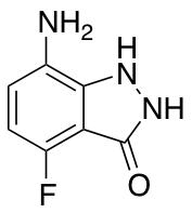 7-Amino-4-fluoro-3-hydroxy 1H-Indazole