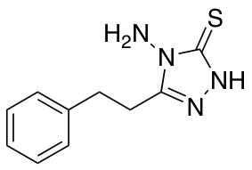 4-amino-5-(2-phenylethyl)-4H-1,2,4-triazole-3-thiol