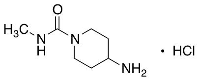 4-Amino-N-methylpiperidine-1-carboxamide hydrochloride