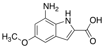 7-Amino-5-methoxy-2-indolecarboxylic Acid
