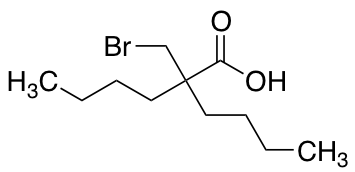 2-(Bromomethyl)-2-butylhexanoic Acid