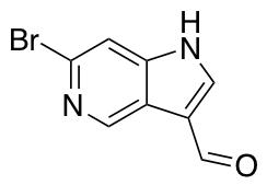 6-Bromo-1H-pyrrolo[3,2-c]pyridine-3-carbaldehyde