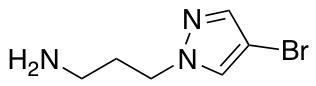 3-(4-Bromo-1H-pyrazol-1-yl)propan-1-amine