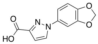 1-(2H-1,3-benzodioxol-5-yl)-1H-pyrazole-3-carboxylic acid
