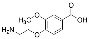 4-(2-Aminoethoxy)-3-methoxybenzoic Acid