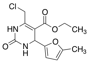 Ethyl 6-(Chloromethyl)-4-(5-methylfuran-2-yl)-2-oxo-1,2,3,4-tetrahydropyrimidine-5-carboxylate