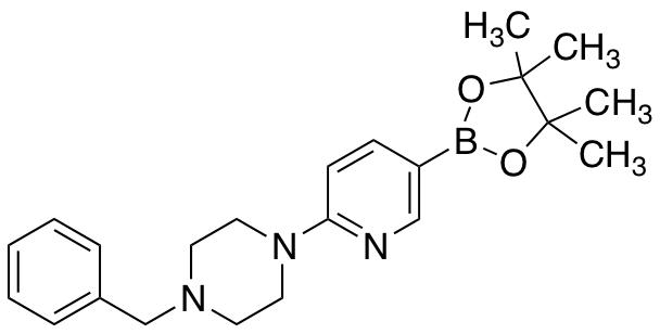 6-(4-Benzylpiperazin-1-yl)pyridine-3-boronic Acid Pinacol Ester