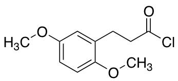2,5-Dimethoxy-benzenepropanoyl Chloride
