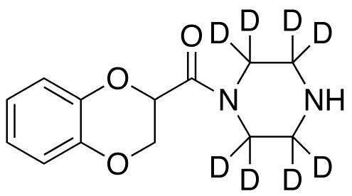 1-(1,4-Benzodioxan-2-ylcarbonyl)piperazine-d8