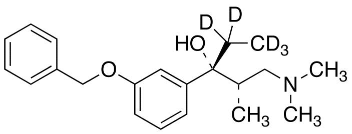3-O-Benzyl-(1R)-hydroxy Tapentadol-d5