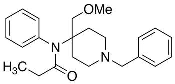 1-Benzyl-4-[N-(1-propanoyl)-N-phenylamino]-4-methoxymethylpiperidine