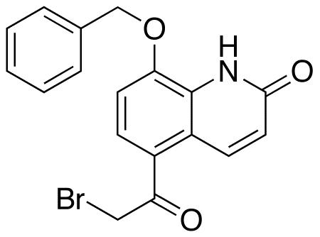 8-Benzyloxy-5-(2-bromoacetyl)-2(1H)-quinolinone