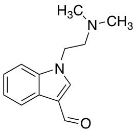 1-[2-(Dimethylamino)ethyl]indole-3-carbaldehyde